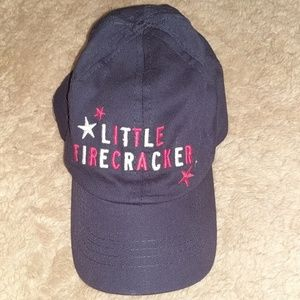 Carter's Little Firecracker baseball hat (infant)